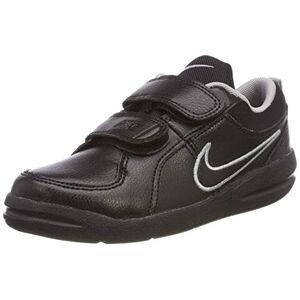 Nike 454500-001, Boys Sneakers, Black (Black / Black / Metallic Silver), 12 Uk