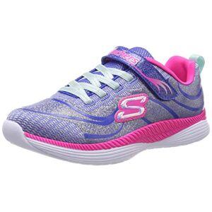 Skechers Girls' Move 'N Groove Trainers, Blue (Blue Hot Pink Blhp), 11 (28.5 Eu)