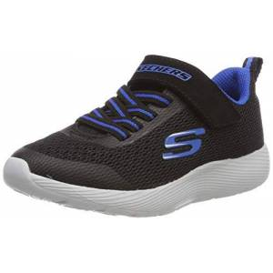 Skechers Boys' Dyna-Lite Trainers, Black (Black Royal Blue Bkry), 13 Uk (32 Eu)