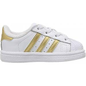 Adidas Unisex Kids' Superstar Low-Top Sneakers, White (Footwear White/core Black/footwear White 0), 5.5 Uk 38 2/3 Eu