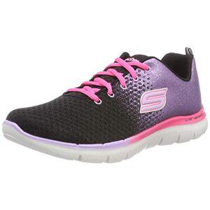 Skechers Girl'S Skech Appeal 2.0-Get Em Glitt Fitness Shoes, Black (Black/lavender/pink Blvp), 12.5 Uk (31 Eu)