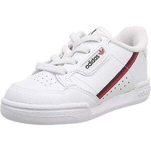 Adidas Unisex Kids Continental 80 I Fitness Shoes, White (Ftw Bla/escarl/maruni 000), 9.5 Uk
