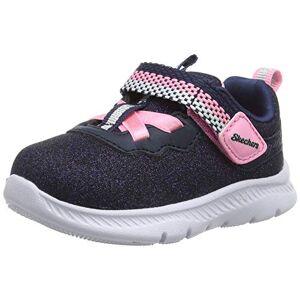 Skechers Comfy Flex 2.0, Girl'S Comfy Flex 2.0, Blue (Navy Sparkle Mesh/pink Trim Nvy), 5.5 Child Uk (22 Eu)