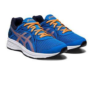 Asics Unisex Kid'S Jolt 2 Gs Walking Shoe, Directoire Blue/orange Cone, 5.5 Uk