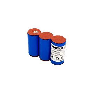 INTENSILO Ni-MH battery 3600mAh(3.6V) for lawn mower Gardena 8808, 8800, 8810, Wolf Garten grass shears 7084889 replaces Accu45, Accu60, RV-E6.