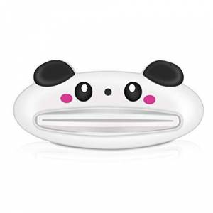 002fr Cartoon Toothpaste Tube Squeezer Easy Dispenser Rolling Holder Bathroom Randomly Delivered