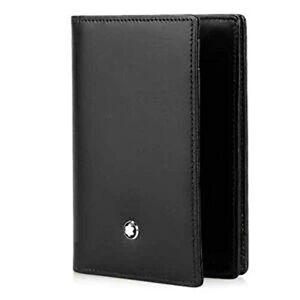 Montblanc Meisterstck Credit Card Case 10 Centimeters Black (Schwarz)