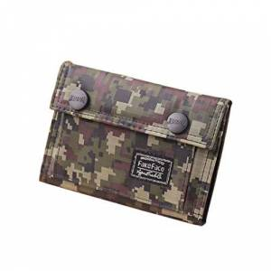Brand New Teens Boys Tri-fold Camouflage Color Wallet Casual Canvas Purse Credit Card Holder Notecase for Students