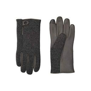 UGG - SNAP TAB FABRIC TECH GLOVE charcoal, Size:L/XL