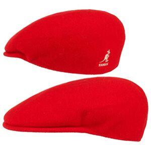 Kangol Men's Wool 504Flat Cap - Red - XX-Large