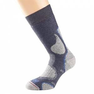 1000 Mile Women's 3 Season Walking Socks, Slate, M