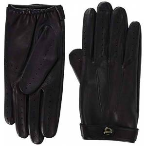 Dents Men's Fleming James Bond Spectre Leather Driving Gloves BLACK L