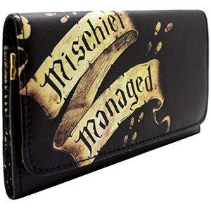Warner Harry Potter Marauders Map Black Coin & Card Trifold Purse