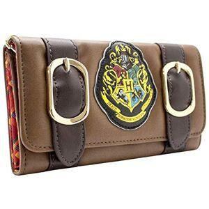 Warner Harry Potter Hogwarts Alumni Brown ID & Card Tri-Fold Purse