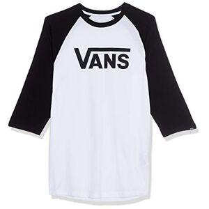 Vans Herren Classic Raglan T-Shirt, Mehrfarbig (WHITE-BLACK YB2), X-Large