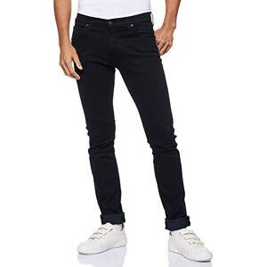 Lee Men's Luke' Tapered Fit Jeans, Black (Blue Black Wood Gq), 32W / 34L