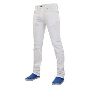 Rio True Face Mens TRF040 Rio Jeans White 38R
