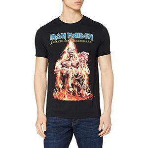Iron Maiden Men's CM EXL Seventh Son Short Sleeve T-Shirt, Black, X-Large