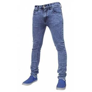 G-72 Denim True Face Mens 021 Skinny Jeans Mid Blue Waist 38 R