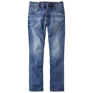 Joe Browns Mens Easy Fit Jeans Mid Wash Blue 38R 32in Leg