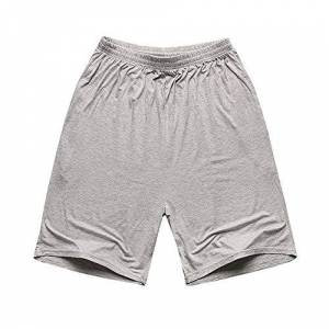 brands Plus Size Big Men Shorts Modal Cotton Summer Soft Comfortable Navy Blue Elastic Waist Loose Shorts Thin