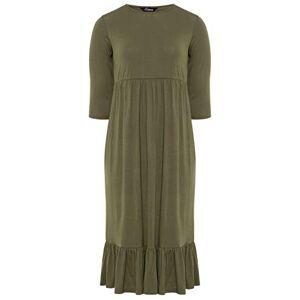 Yours Clothing Womens Plus Size Smock Midi Dress