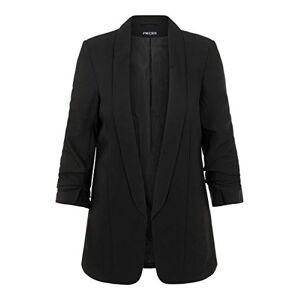 Pieces Women's Pcboss 3/4 Blazer Noos Suit Jacket, Black (Black Black), 10 (Size: Small)
