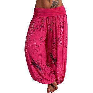 Women's Yoga Trousers Harem Trousers Women Boho Wide Leg, Women Casual Yoga Trousers Loose Solid Colour Large Size Fluid Women, Pencil Pants, Women's Leggings High Waist