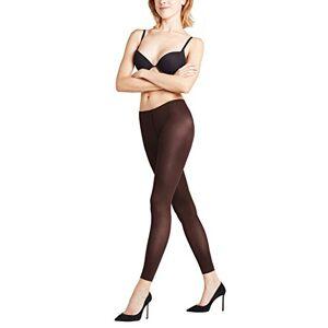 FALKE Women's Pure Matt 50 DEN Leggings - Semi-Opaque, Matt, Brown (Cigar 5229), S-M (UK 12-14 EU 38-40), 1 Pair