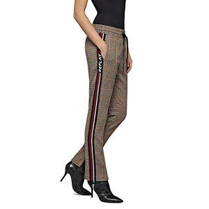 Replay Women's W8873 .000.52180 Trouser, Multicolour (Brown/Beige/Orange 010), 14 (Size: Large)