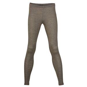 Engel Wool Silk Women's Leggings, Size UK 8 - 18, 2 Colours - Brown - 12