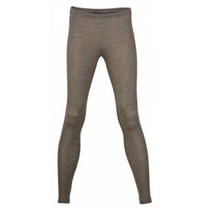 Engel Wool Silk Women's Leggings, Size UK 8 - 18, 2 Colours - Brown - 12