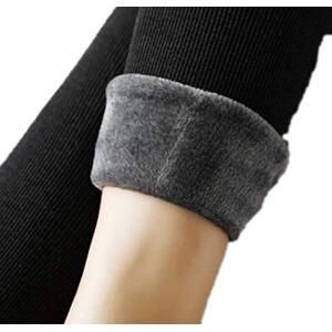 Trousers Leggings Women Velvet, Winter Trousers Thick High Waist Christmas Leggings Trousers Large Size Women Leggings Trousers - - XL
