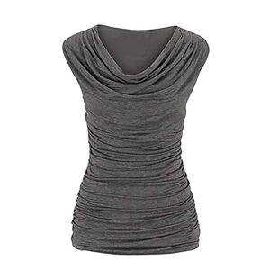 Women Sleeveless T-shirt Tops Blouse Casual Round Neck tank tops