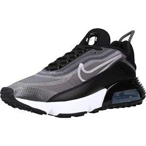 Nike Women'S W Air Max 2090 Running Shoe, Black/white-Mtlc Silver, 5 Uk