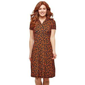 Joe Browns Women's Curious Collar Dress, Multicoloured (Multi (Size:16)