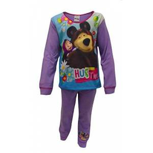 Girls Masha The Bear Pyjamas, Pink / Multicoloured, 18 - 24 Months