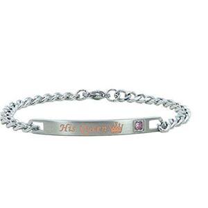 HNCE His Or Hers Matching Set Couple Bracelets Alloy Adjustable Relationship Bracelets