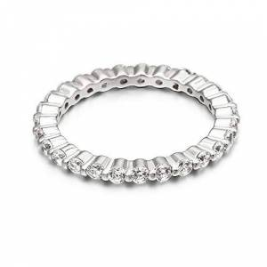 DYY Ms. S925 Silver Ring Fashion New Diamond-Studded Ring Gift,As Show,7
