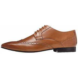 find. Ashby Leather, Mens Brogues, Brown (Tan), 6 UK (40 EU)