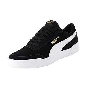 Puma Unisex Adult'S Caracal Sd Sneakers, Black Black White Team Gold 01, 5 Uk 38 Eu