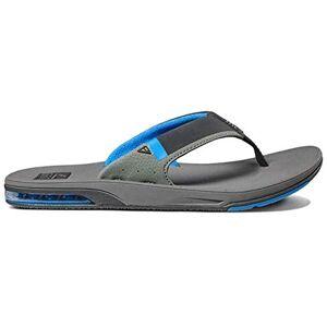 Reef Men'S Fanning Low Flip Flops, Multicolor (Grey/blue Gbl), 37.5 Eu, 5 Uk