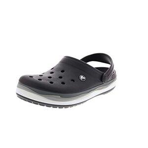 Crocs Unisex Adults Crocband Wavy Band Clog U, Black (Black/multi 0c4), 4/5 Uk
