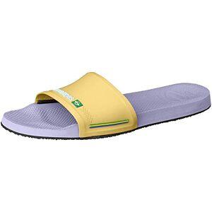 Havaianas Unisex Adult'S Slide Brasil Flip-Flops, Lavander, 5 Uk (37/38 Eu)