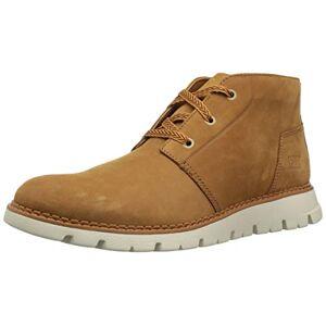 Caterpillar Sidcup Mens Leather Material Formal Boots Sudan Brown - 11 Uk