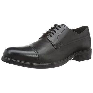 Geox Men'S Uomo Carnaby G Derby, Black (Black C9999), 6 Uk (39 Eu)