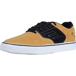 Emerica Men'S The Low Vulc Skate Shoe, Gold/black, 5 Uk