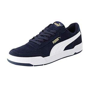 Puma Unisex Caracal Sd Sneakers, Peacoat P White P Team Gold, 8.5 Uk