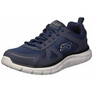 Skechers Men'S Track-Scloric Low-Top Sneakers, Blue (Navy 52631-Nvy), 7 Uk