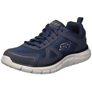 Skechers Men'S Track-Scloric Low-Top Sneakers, Blue (Navy 52631-Nvy), 8 Uk